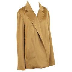 A Sam Kori George Cashmere Jacket, Camel Cashmere With Silk Lining.