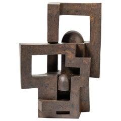 """Sculpture Entitled """"Apesanteur"""" by Pierre Martinon, circa 1990"""