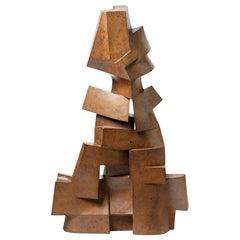 """Sculpture Entitled """"Ascendante"""" by Pierre Martinon, circa 1989"""