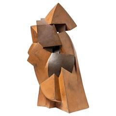 """Sculpture Entitled """"Par devers soi"""" by Pierre Martinon, circa 1995"""