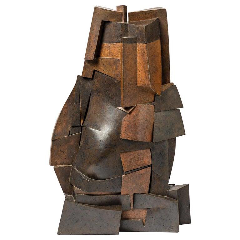 """Sculpture Entitled """"Petite musique de nuit"""" by Pierre Martinon, circa 1991 For Sale"""