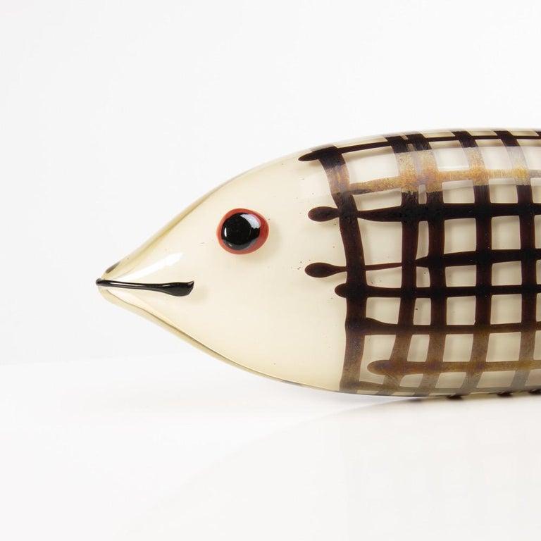 Italian Sculpture Modeled as a Fish, Ken Scott, Venini