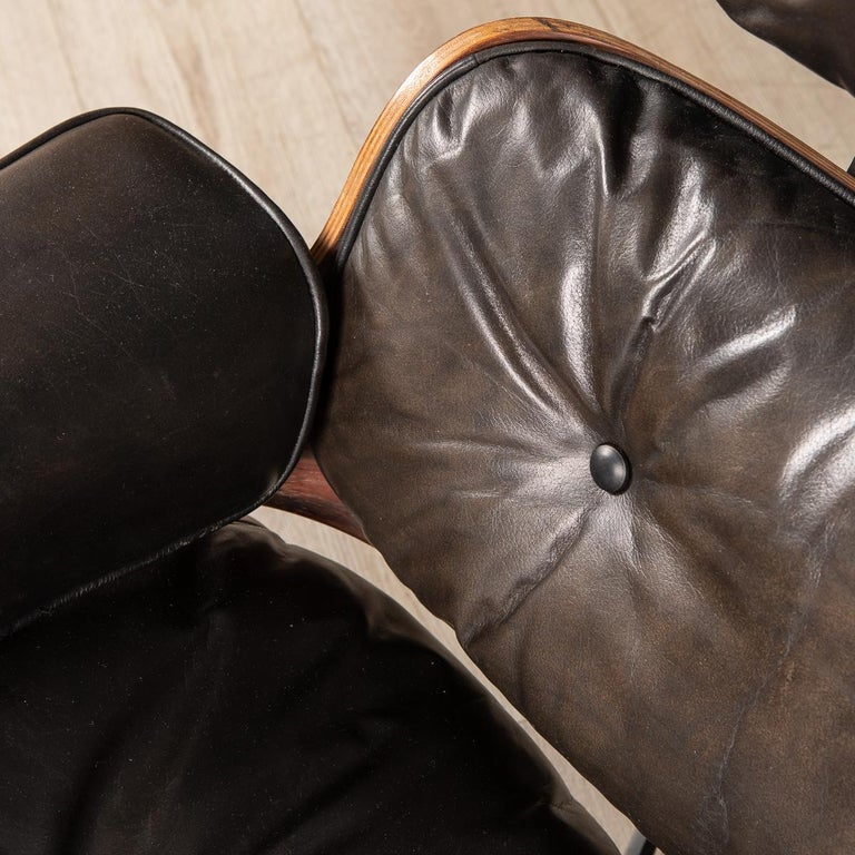 Second Series Eames Lounge Chair & Ottoman, Herman Miller, Circa 1970 For Sale 6