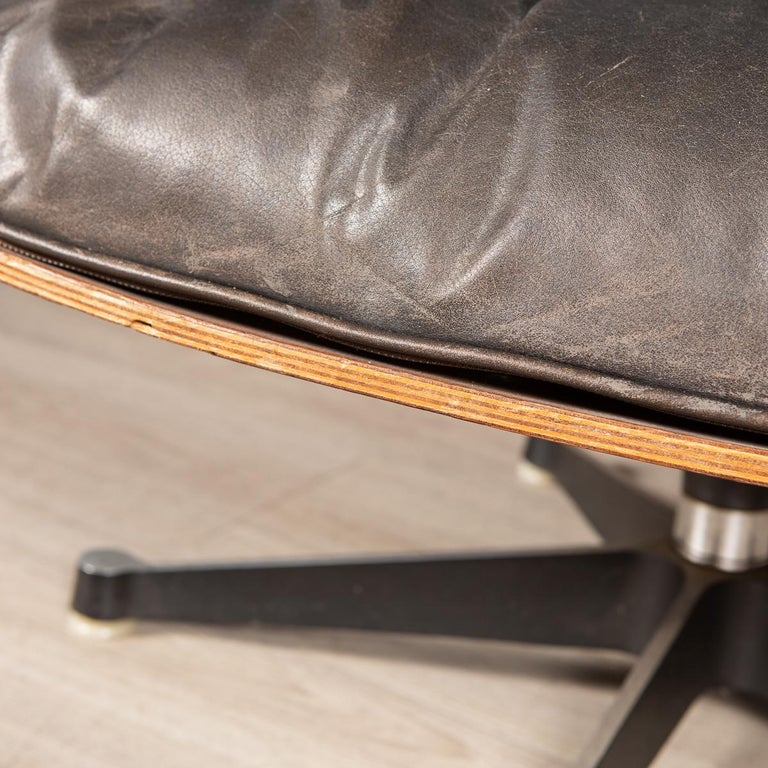 Second Series Eames Lounge Chair & Ottoman, Herman Miller, Circa 1970 For Sale 3