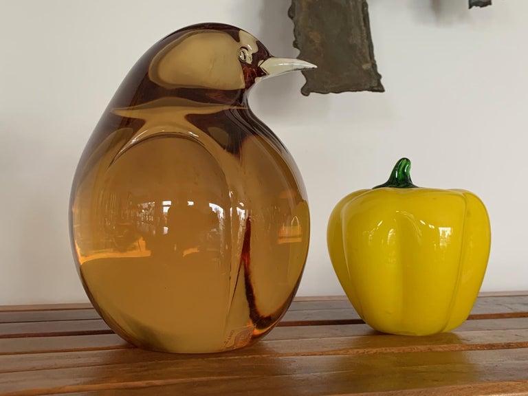 Seguso Glass Pigeon For Sale 1