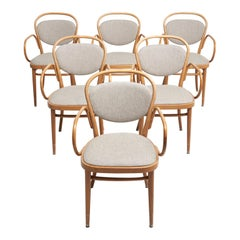 Set Bentwood Dinning Chairs by Michael Thonet
