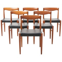 Set Dining Chairs by H.W. Klein for Bramin