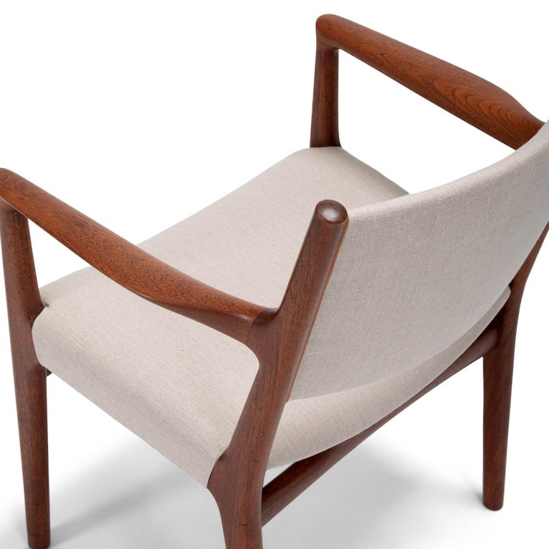 20th Century Set of 10 Chairs by Hans Wegner, Made by Cabinetmaker Johannes Hansen For Sale