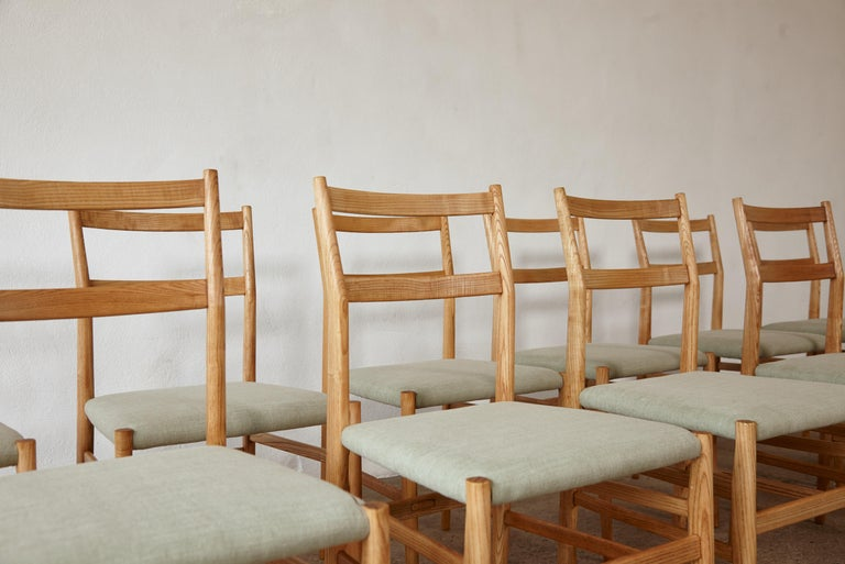 Set of 12 Gio Ponti Leggera Model 646 Dining Chairs for Cassina, Italy, 1950s For Sale 5