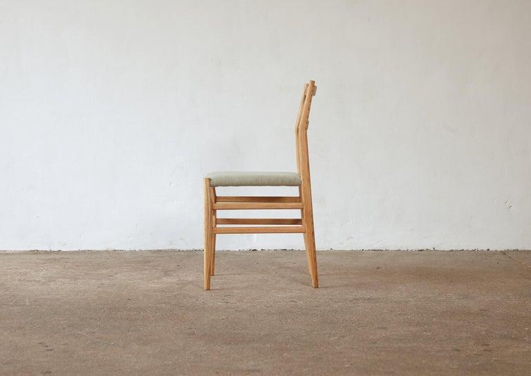 Italian Set of 12 Gio Ponti Leggera Model 646 Dining Chairs for Cassina, Italy, 1950s For Sale