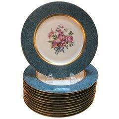 Set of 12 Theodore Haviland Service Dinner Plates