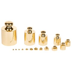 Set of 16 Metric Weights by Baird and Tatlock of London