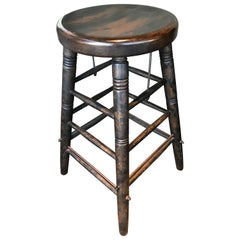 Set of 22 Mountain Style Bar Stools