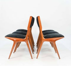 A Set of 6 Carlo Di Carli Dining Chairs for Singer and Sons