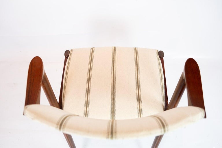 Set of 6 Dining Chairs, Model 42, Designed by Kai Kristiansen, 1960s For Sale 1