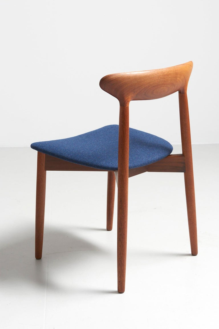 Set of 6 Dinning Chairs by Harry Østergaard In Good Condition For Sale In Antwerpen, BE