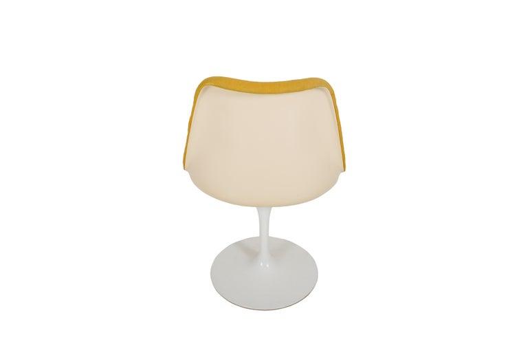 Set of 6 Eero Saarinen Knoll Production 1960 Tulip Chairs For Sale 1