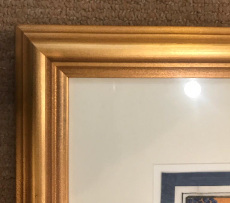 Set of 6 Framed Gouache Paintings on Pith Paper, China, 1850 For Sale 9