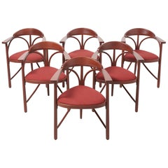 Set of 6 'Model No. 81' Dining Chairs by Thonet