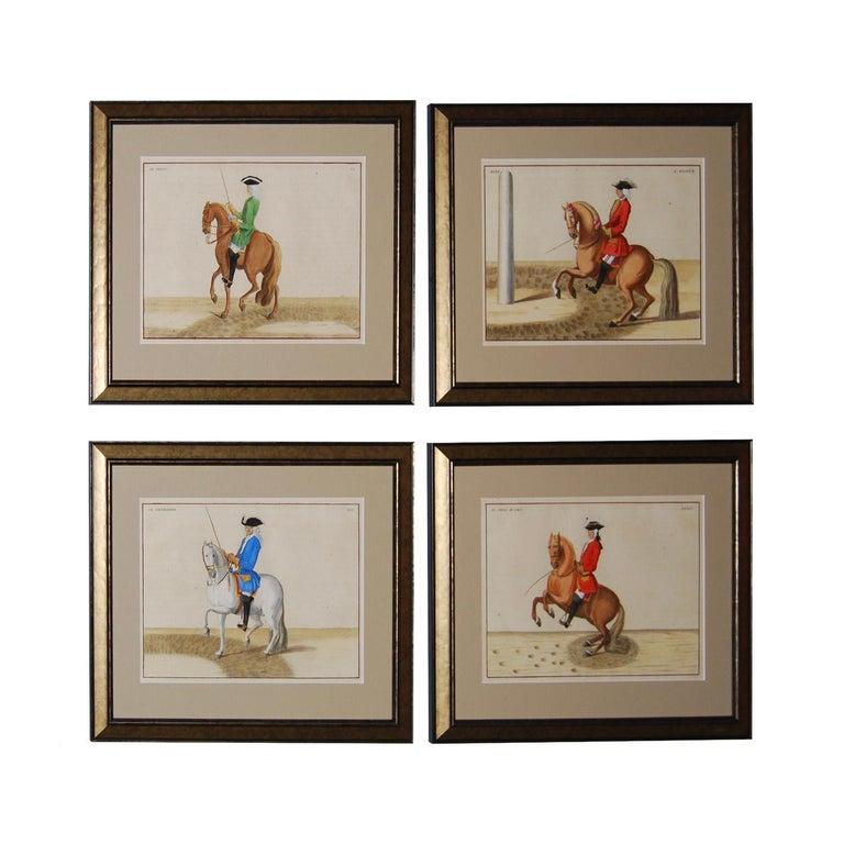Dutch Set of 8 Eisenberg Horses For Sale