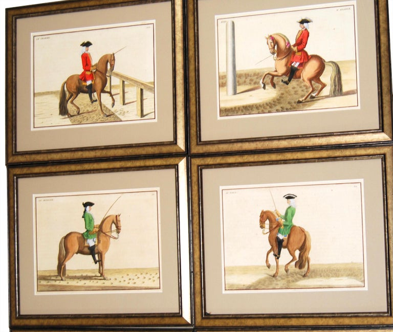 18th Century and Earlier Set of 8 Eisenberg Horses For Sale