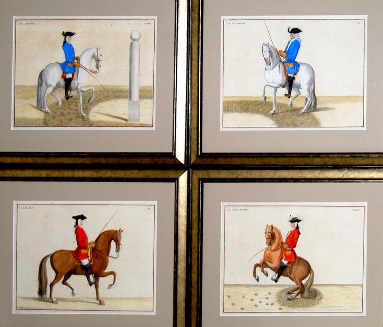 Paper Set of 8 Eisenberg Horses For Sale