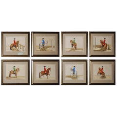 Set of 8 Eisenberg Horses
