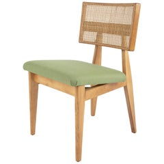 Set of 8 Ernest Farmer Caned Dining Chairs for George Nelson Associates