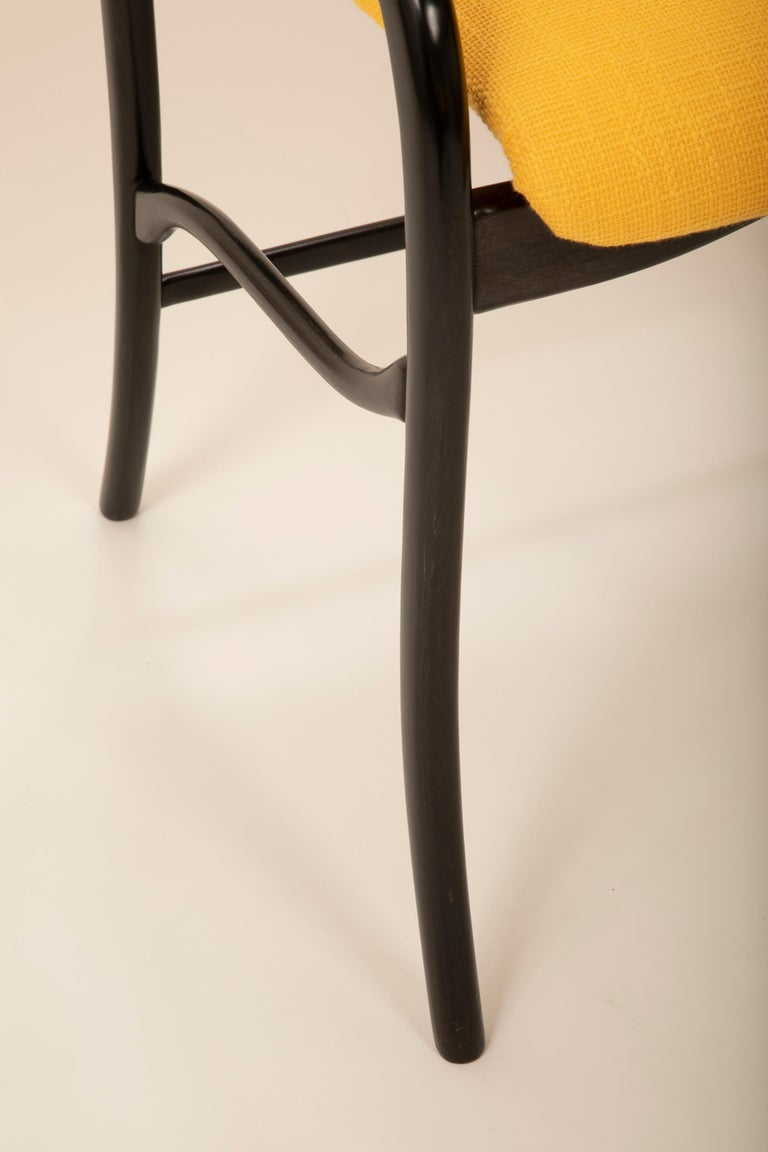 Set of 8 Sculptural Italian Dining Chairs Attributed to Malatesta & Mason In Good Condition For Sale In Stamford, CT