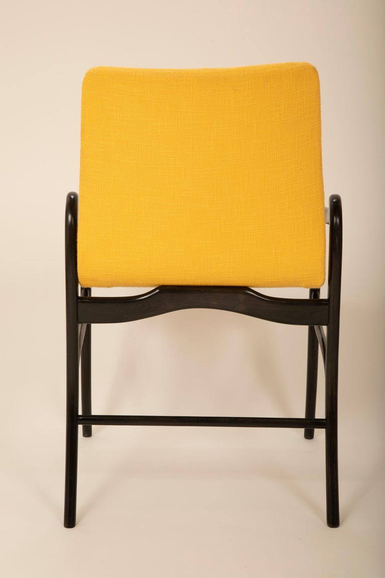 Set of 8 Sculptural Italian Dining Chairs Attributed to Malatesta & Mason For Sale 2