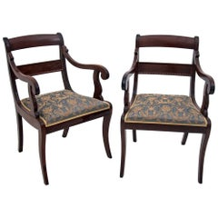Set of Antique Armchairs from the Late 19th Century