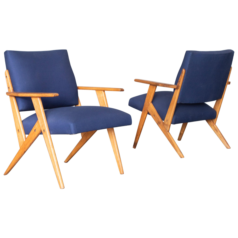 Set of Armchairs by Jose Zanine Caldas, 1950s