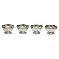 Set of Eight, Tiffany & Co., Sterling Silver Open Salts & Pepper Shakers