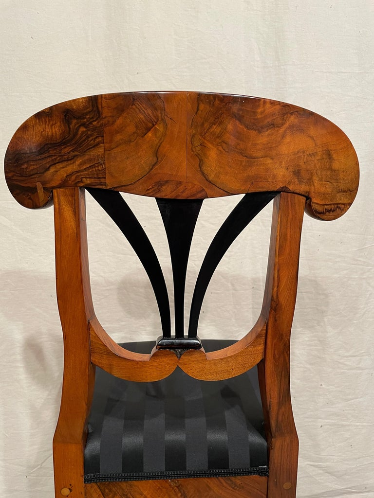 Early 19th Century Set of Four Biedermeier Chairs, South Germany, 1820 For Sale