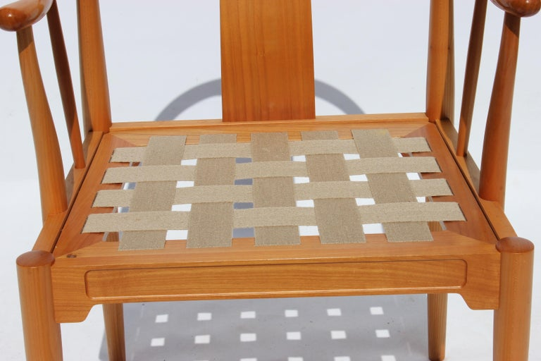Set of Four China Chairs, Model 4283, by Hans J. Wegner and Fritz Hansen For Sale 3