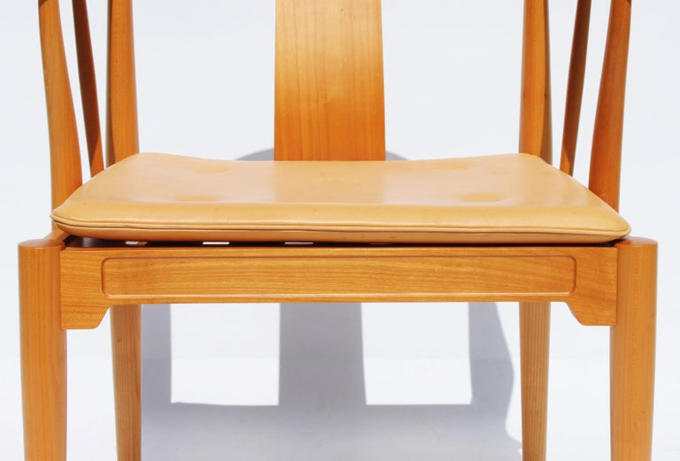 Danish Set of Four China Chairs, Model 4283, by Hans J. Wegner and Fritz Hansen For Sale