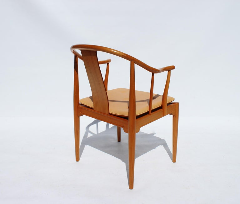 Set of Four China Chairs, Model 4283, by Hans J. Wegner and Fritz Hansen For Sale 1
