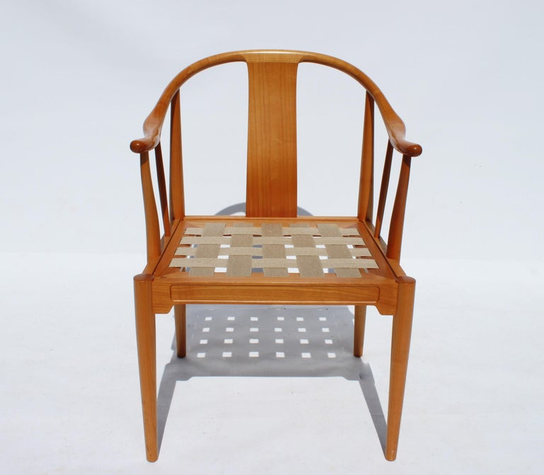 Set of Four China Chairs, Model 4283, by Hans J. Wegner and Fritz Hansen For Sale 2
