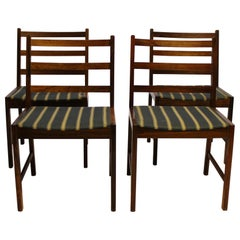 Set of Four Dining Chairs in Rosewood, Danish Design, 1960s