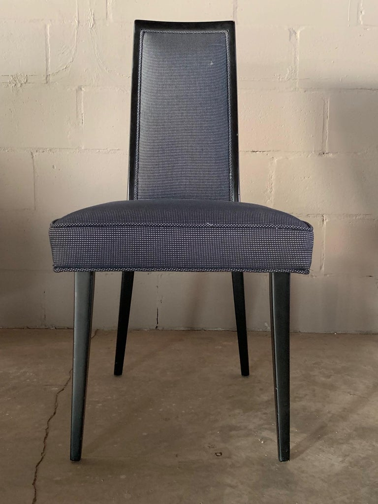Set of Four Elegant Dining Chairs by Harvey Probber In Good Condition For Sale In St.Petersburg, FL