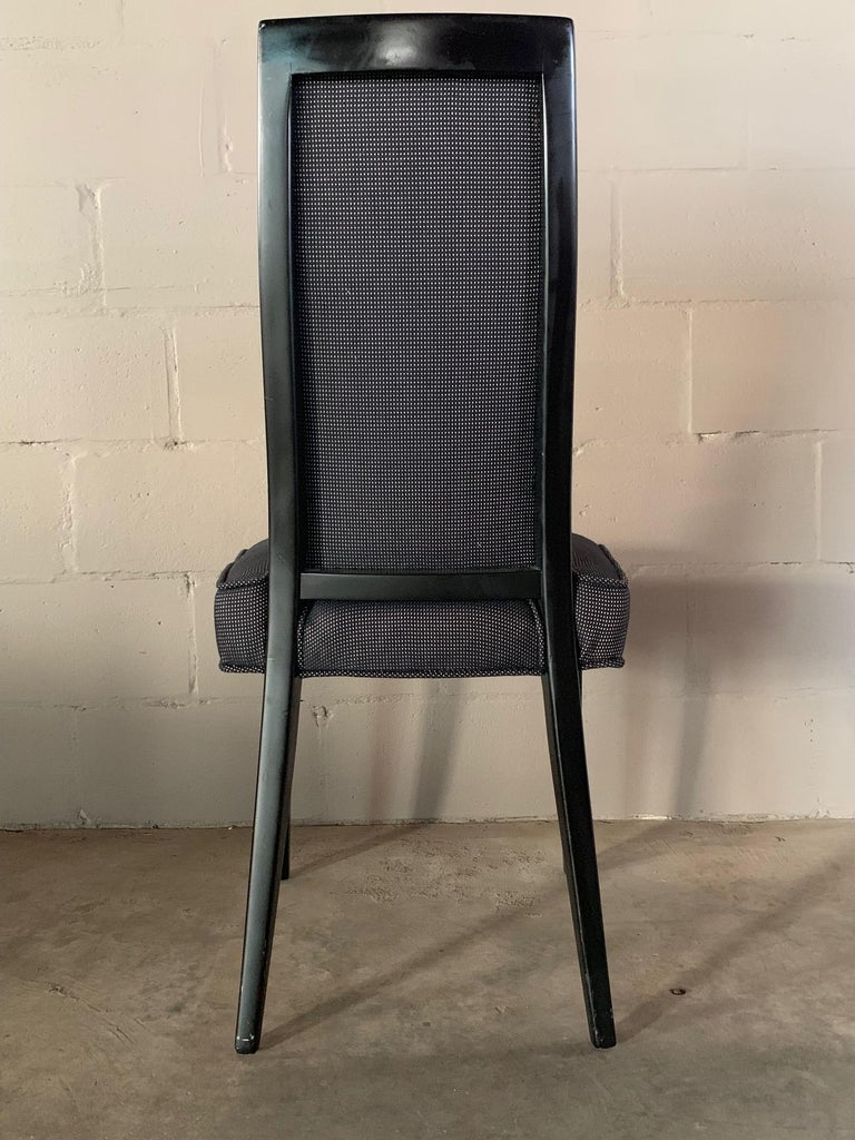 Set of Four Elegant Dining Chairs by Harvey Probber For Sale 2