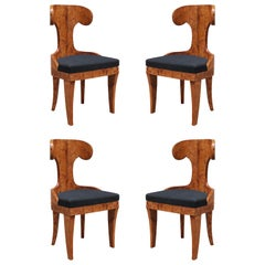 Set of Four Neoclassical Side Chairs