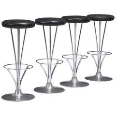 Set of Four Piet Hein Barstools