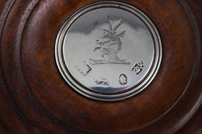 Set of Four William IV Silver Wine Coasters Sheffield, 1830 For Sale 6