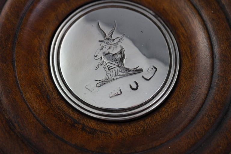 Set of Four William IV Silver Wine Coasters Sheffield, 1830 For Sale 7