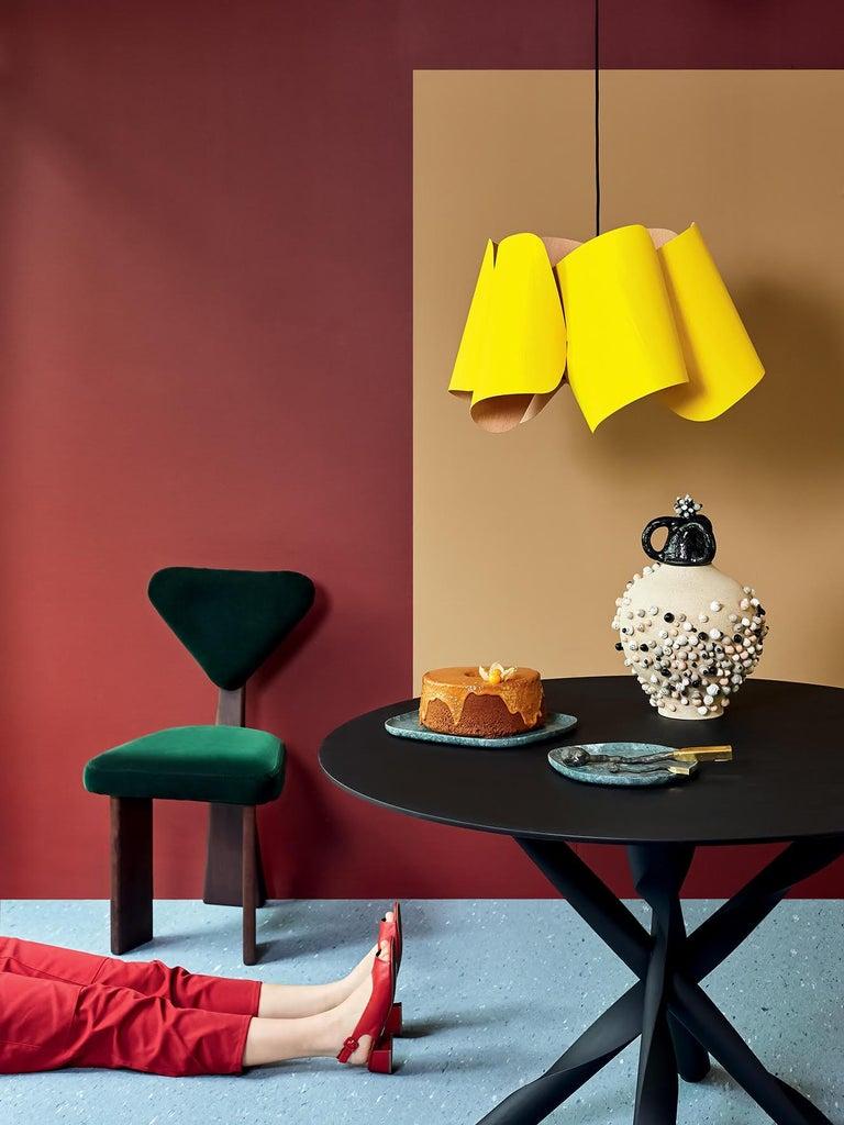 Contemporary A set of Giraffe Chair in Solid Brazilian Walnut Wood by Juliana Vasconcellos