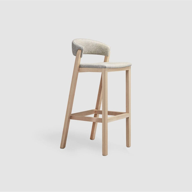 Post-Modern Set of Gray Oslo Stool & Chair by Pepe Albargues For Sale