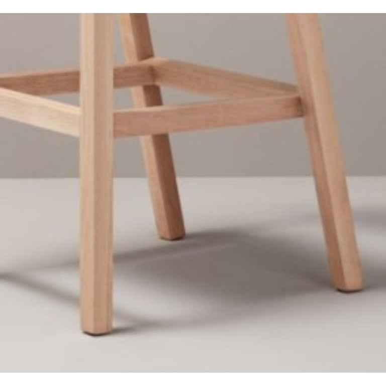 Set of Gray Oslo Stool & Chair by Pepe Albargues In New Condition For Sale In Geneve, CH