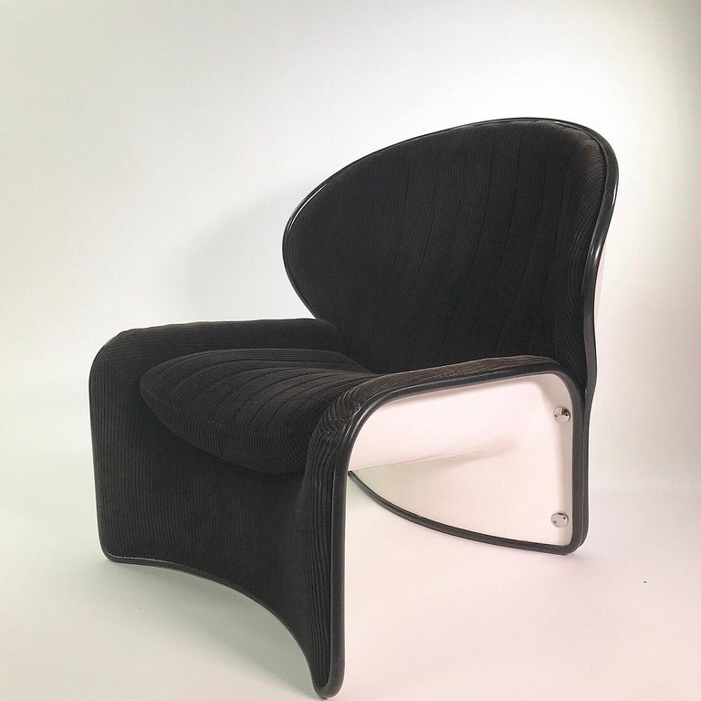 Set of Lotus Lounge Chairs by André Vandenbeuck for Strässle, Switzerland, 1969 For Sale 2