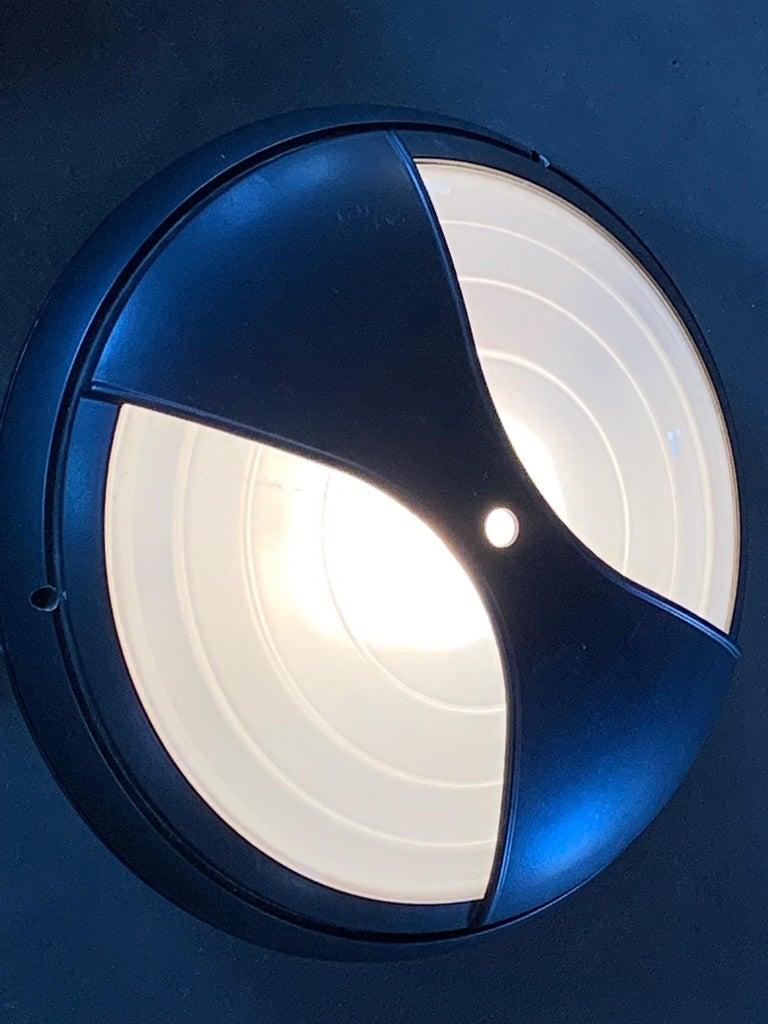 Late 20th Century Set of Seven Pantarei Wall Lights by Ernesto Gismondi Artemide For Sale